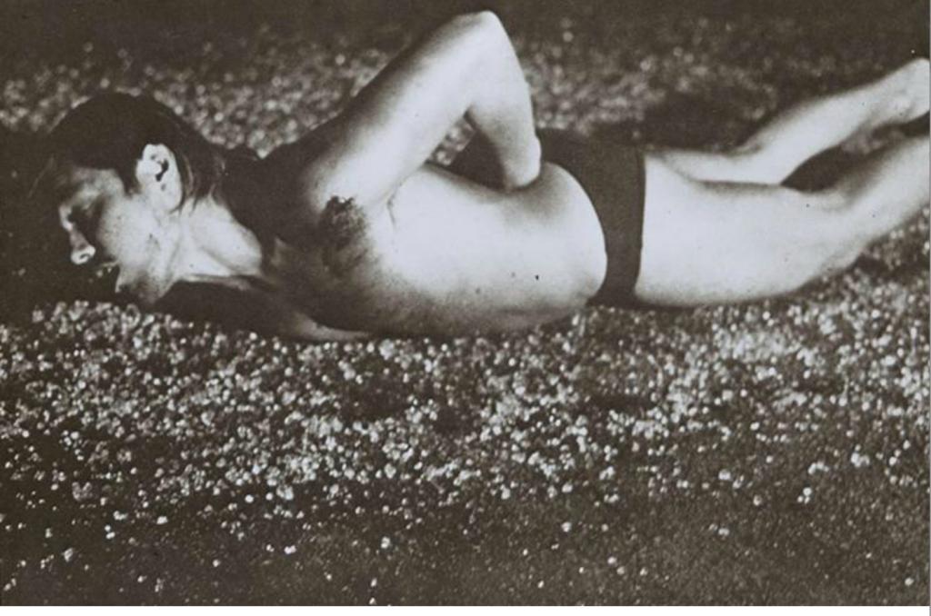 Chris Burden, Through The Night Softly, 1973.