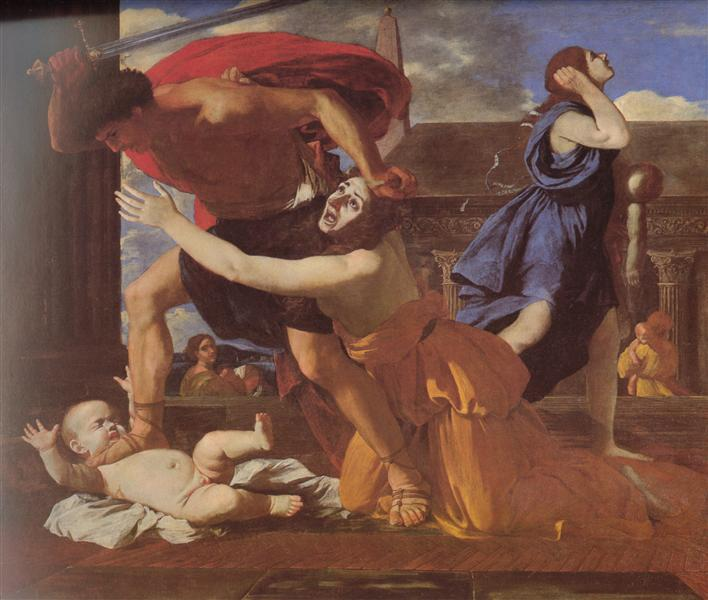 """The Massacre of the Innocents,"" Nicolas Poussin, 1628-1629."