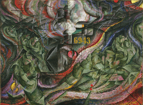 States of Mind I: The Farewells, Umberto Boccioni, 1911.