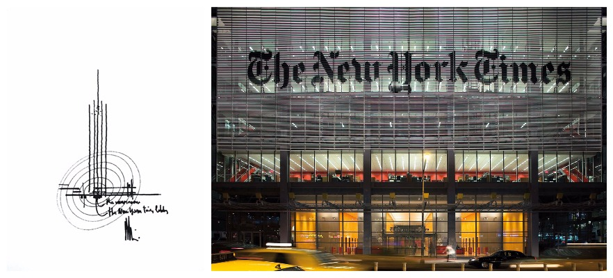 The New York Times Building, New York, U.S.A, 2000-2007.