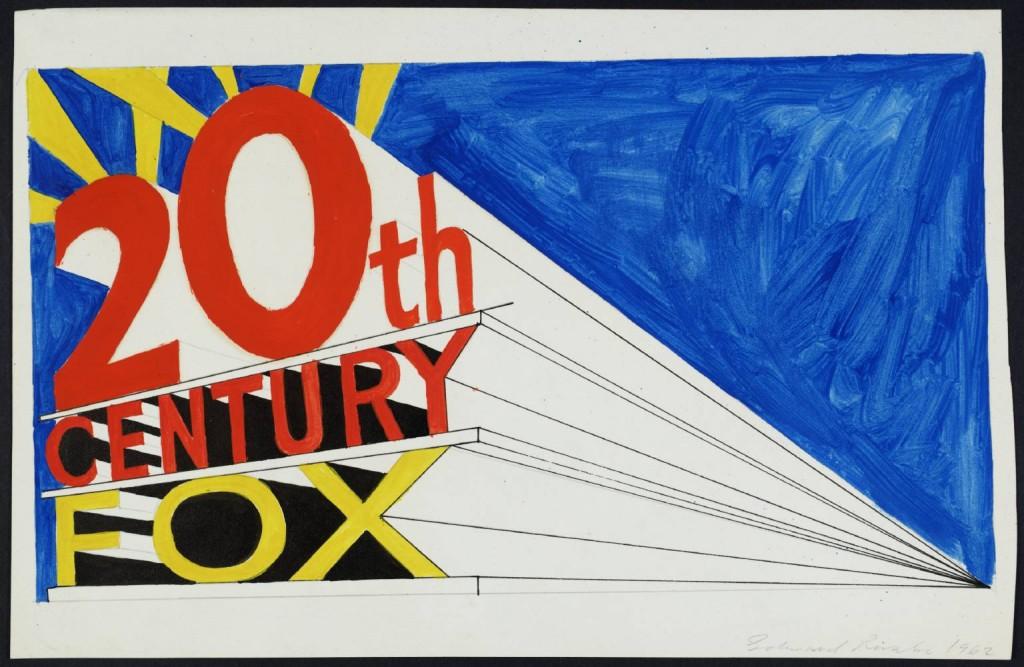 Trademark #5, Ed Ruscha, 1962. Image via Tate Museum.