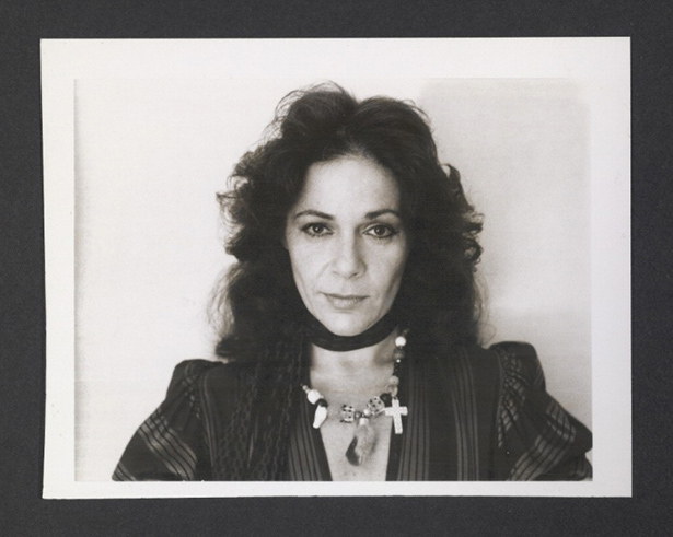 Ruth Kligman by Robert Mapplethorpe, 1972. ¬Image via the Getty Museum blog.