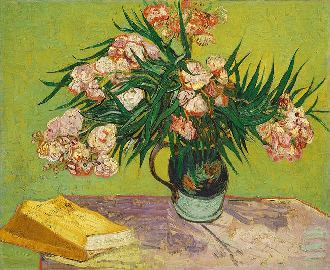 Oleanders, Vincent van Gogh, 1888.