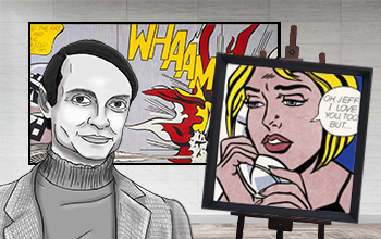 Lichtenstein, Roy Biography, Art & Analysis