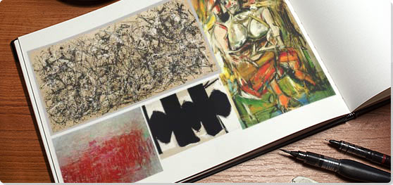 abstract expressionism movement artists and major works the art  abstract expressionism collage