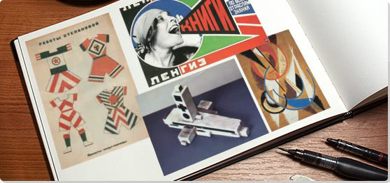 How did the russian revolution around the 20s influence art?