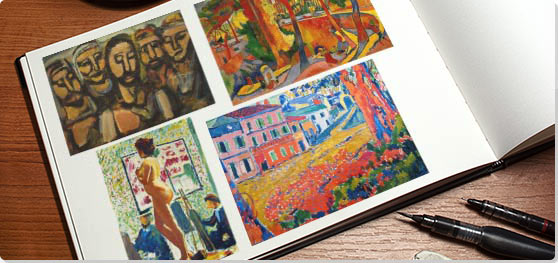 Fauvism Collage