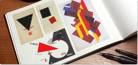 Suprematism Collage