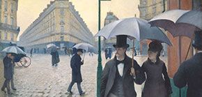 Paris Street, Rainy Day (1877)