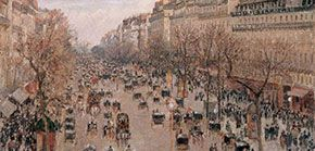 The Boulevard Montmartre, Afternoon (1897)