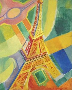 Robert Delaunay's <i>La Tour Eiffel</i> (1926) is an early example of an artist reacting to the developments of the modern age.