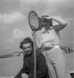<i>Photograph of Eileen Agar and Joseph Bard</i> (1934). The estate of David Dear & Simone Dear