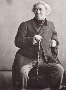 An older Corot, captured by the renowned photographer Nadar. Despite his somewhat conservative training, Corot experimented with the emerging technology of photography in his later years.
