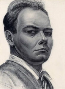 John Steuart Curry, <i>Self Portrait</i> (1928)