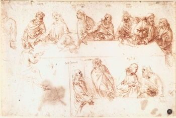 Study for The Last Supper (1494-1495)