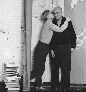 The artists Leon Golub and Nancy Spero, 1985