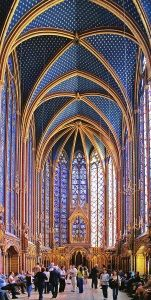 Amazing The Interior Of Sainte Chappelle (1242 1248) Shows The Rayonnant Emphasis On