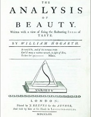 "Hogarth's <i>Analysis of Beauty</i> was ""intensely original, demolishing the pillars of conventional thinking about art"", according to biographer Jenny Uglow."