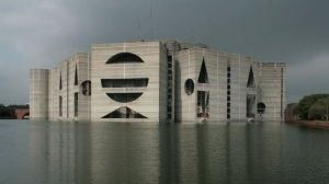 Louis Kahn, National Parliament Building, Dhaka, Bangladesh, 1961-82