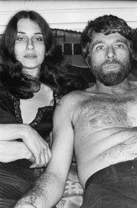 R.B. Kitaj with Sandra Fisher, Photograph by Lee Friedlander