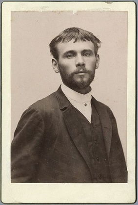 Gustav Klimt in 1887