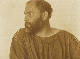 Photo of Gustav Klimt (1914)