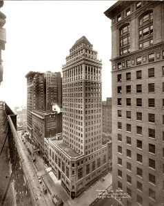 MoMA's first home was on the 12th floor of the Hecksher Building, at Fifth Avenue and 57th Street.