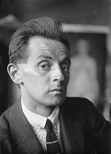 The confident face of Egon Schiele
