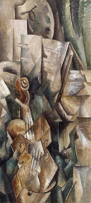 Georges Braque: Violin and Palette (1909)