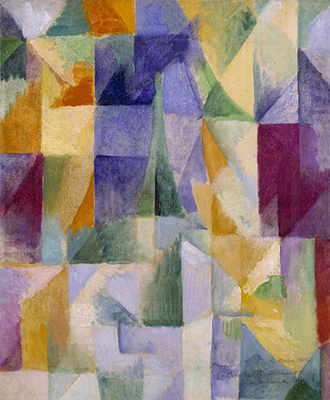 Robert Delaunay: Windows Open Simultaneously (First Part, Third Motif) (1912)