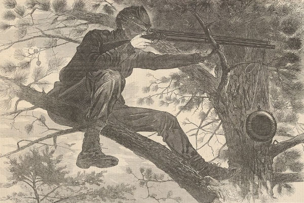 The Army of the Potomac - A Sharp Shooter on Picket Duty (1862)