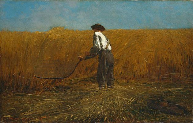 The Veteran in a New Field (1865)