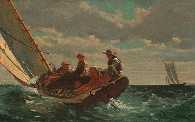 Breezing Up (A Fair Wind) (1873-1876)